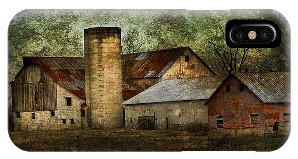 Mennonite Farm In Tennessee Usa IPhone Case