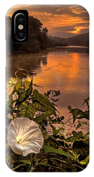 Meramec River At Chouteau Claim IPhone Case
