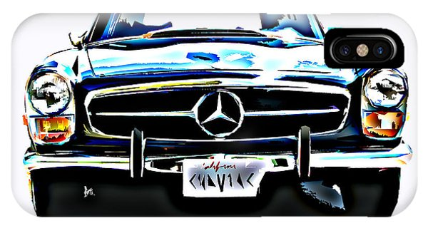Mercedes Benz 280sl Roadster IPhone Case