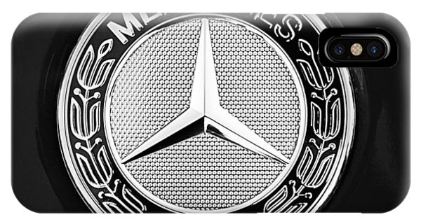 Mercedes-benz 6.3 Gullwing Emblem IPhone Case