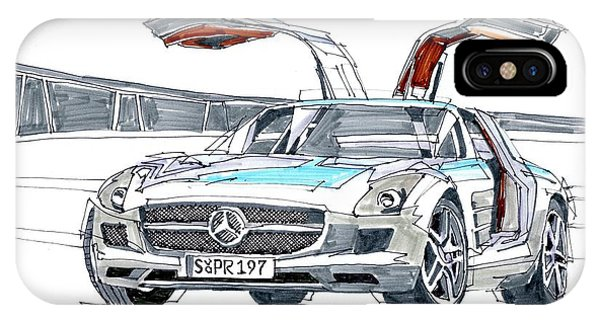iPhone Case - Mercedes Benz by Paul Guyer