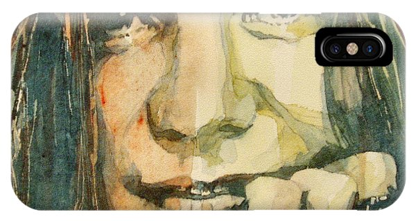 Song iPhone Case - Mercedes Benz by Paul Lovering