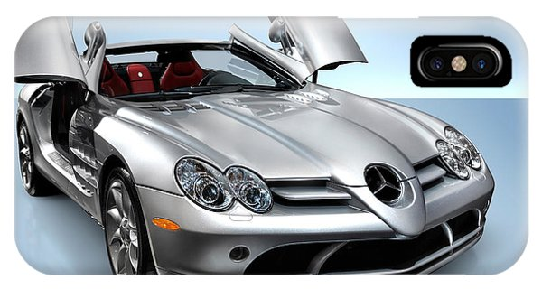 Mercedes Benz Slr Mclaren IPhone Case