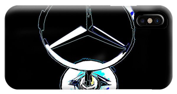 Mercedes Logo 2 IPhone Case
