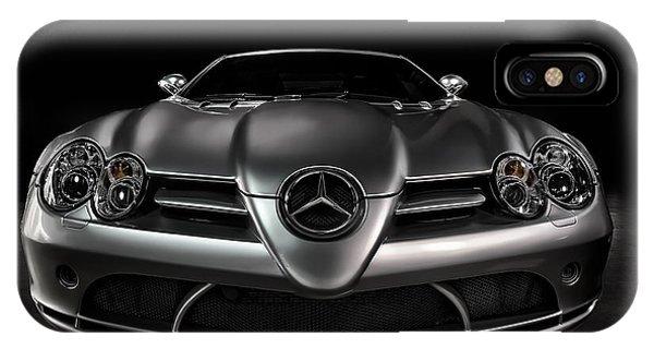 Automotive iPhone Case - Mercedes Mclaren Slr by Douglas Pittman