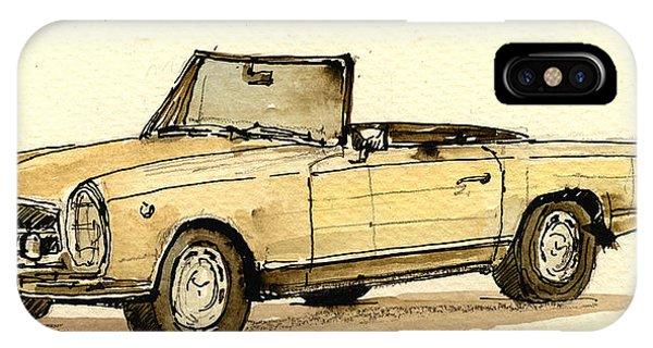 Vehicles iPhone Case - Mercedes Sl by Juan  Bosco
