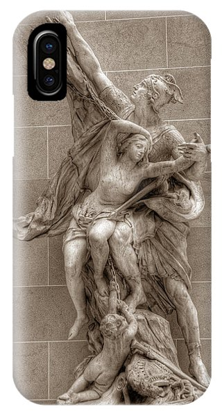 Mercury And Psyche IPhone Case