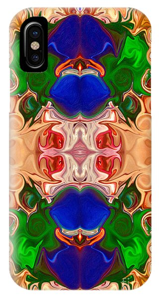 IPhone Case featuring the digital art Merging Consciousness With Abstract Artwork By Omaste Witkowski  by Omaste Witkowski