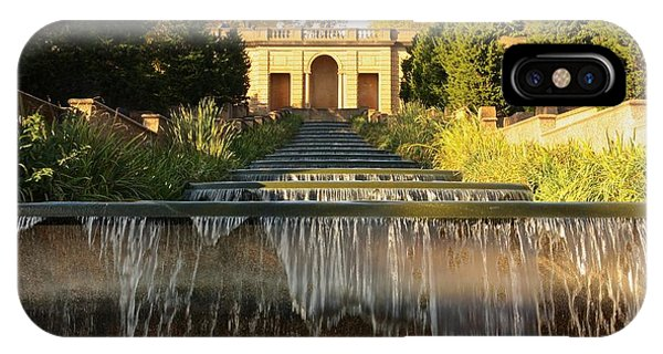 Meridian Hill Park Waterfall IPhone Case