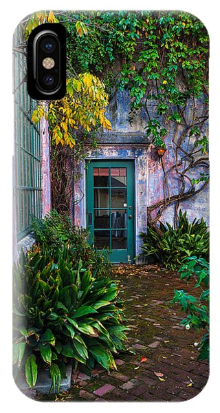 Meridian Studios Courtyard IPhone Case