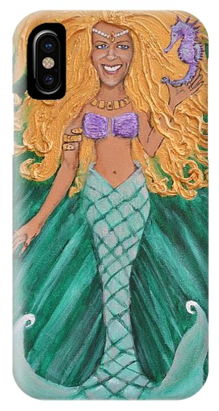 Mermaid Christine IPhone Case