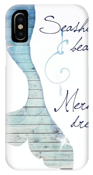 Mermaid iPhone Case - Mermaid Dreams by Elizabeth Medley