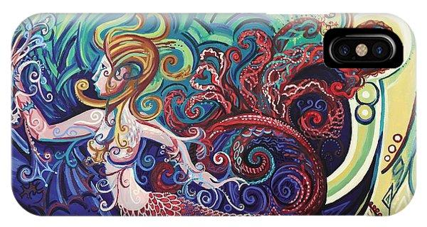 Mermaid Gargoyle IPhone Case