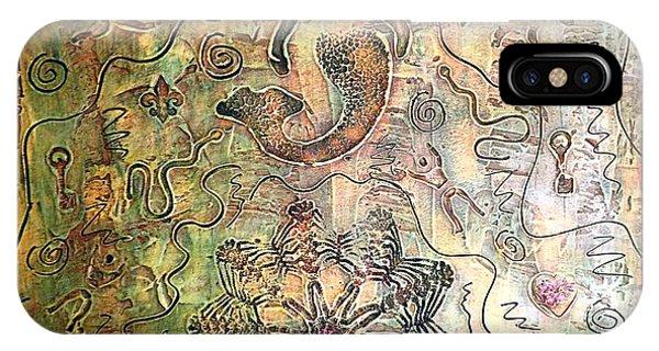 Alfredo Garcia iPhone Case - Mermaid Goddess By Alfredo Garcia by Alfredo Garcia