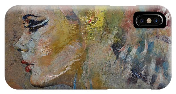 Mythological Creature iPhone Case - Mermaid by Michael Creese