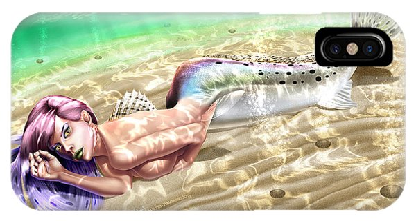 Mermaid - Speckled Trout IPhone Case