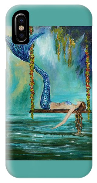 Mermaids Lazy Lagoon IPhone Case