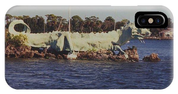 Merritt Island River Dragon IPhone Case