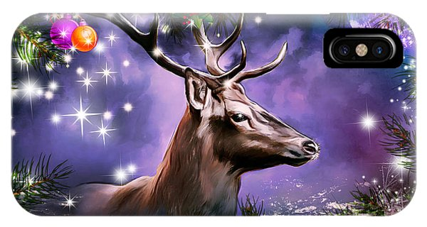 Merry Christmas And Happy New Year . IPhone Case