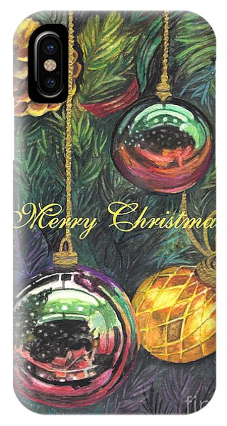 Merry Christmas Wishes IPhone Case