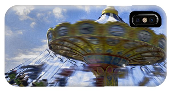 Merry Go Round Swings IPhone Case