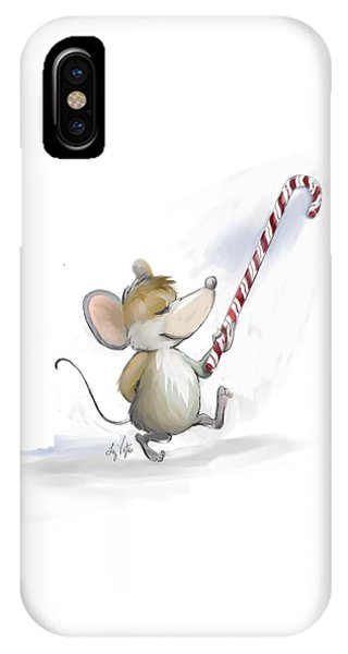 Merry Mouse Moe IPhone Case