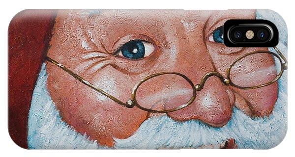 Merry Santa IPhone Case