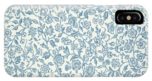 Art And Craft iPhone Case - Merton Wallpaper Design by William Morris
