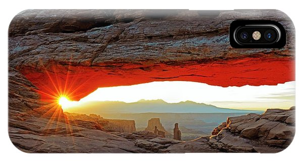 Physical iPhone Case - Mesa Arch by Bildagentur-online/mcphoto-schulz