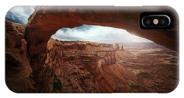 Arches National Park iPhone Case - Mesa Arch by Juan Pablo De