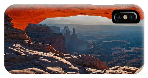 IPhone Case featuring the photograph Mesa Arch  by Mae Wertz