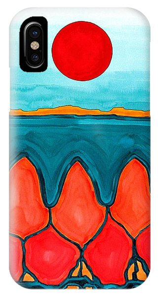 Mesa Canyon Rio Original Painting IPhone Case