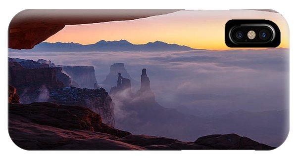 Arches National Park iPhone Case - Mesa Mist by Chad Dutson
