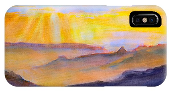 Mesa Sunset IPhone Case