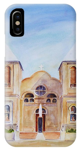 Mesilla Church IPhone Case
