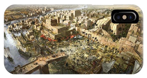 Mesopotamia Phone Case by Jeff Brown