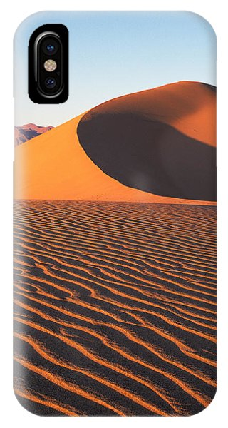 Mesquite Dunes 1-v IPhone Case