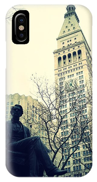 Met Life And Madison Square Park IPhone Case