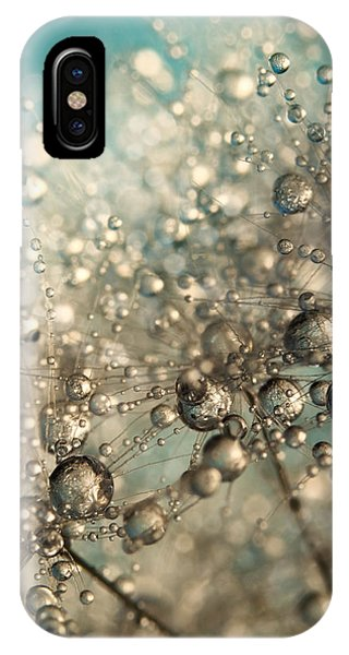 Metal Blue Dandy Sparkle IPhone Case
