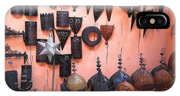 Metal Work Marrakesh Phone Case by Sophie Vigneault