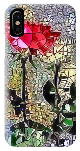 Metalic Rose IPhone Case