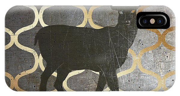 Holiday iPhone Case - Metallic Nature I by Andi Metz