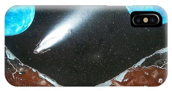 Meteor Moons IPhone Case