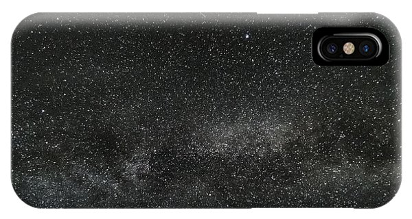 Meteor With The Milky Way IPhone Case