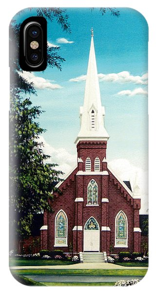 Methodist Church IPhone Case