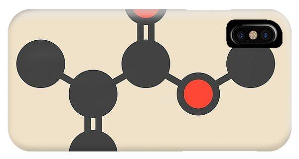 Repeat iPhone Case - Methyl Methacrylate Molecule by Molekuul