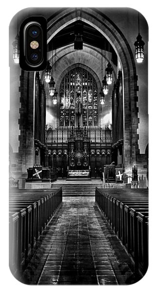 IPhone Case featuring the photograph Metropolitan United Church 1 Toronto Canada by Brian Carson