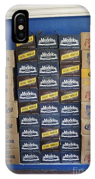 Mexican Cervezas IPhone Case
