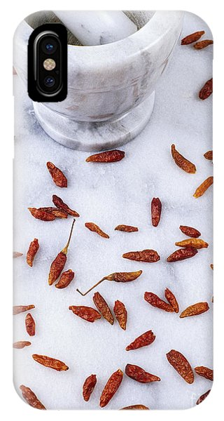 Mexican Chillies Phone Case by Geoff Kidd
