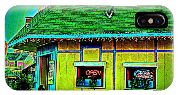 Blue Berry iPhone Case - Mexican Grill by Chris Berry